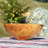 Nádoby - Miska z lipového dreva - 9957073_
