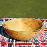 Nádoby - Miska z lipového dreva - 9957079_
