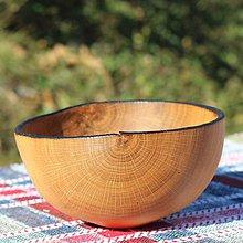 Nádoby - Miska z dubového dreva - 9957187_