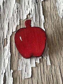 Odznaky/Brošne - AKCIA! jabĺčko - brošňa - 9958113_