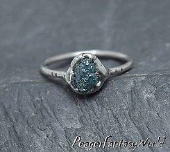 Prstene - Prstienok s diamantom - 9962480_