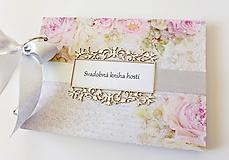 Papiernictvo - svadobná kniha hostí - 9959402_