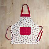 Detské oblečenie - zástera pre malé kuchárky - 9960562_