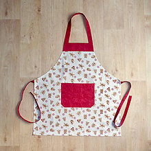 Iné oblečenie - zástera pre malé kuchárky - 9960562_