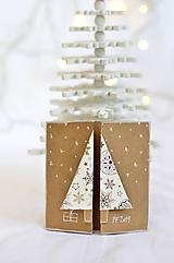 Malá vianočná pohľadnica - Stromček