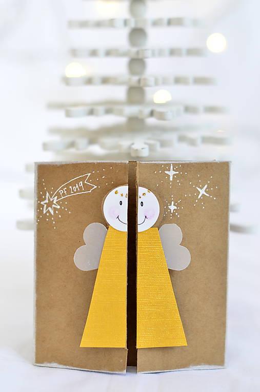 Malá vianočná pohľadnica - Anjelik môj