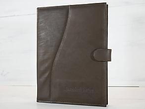 Knihy - Kožené dosky na dôležité dokumenty - Pamätná kniha - 9959280_