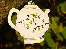 Maľované čajníky (Hrušky)