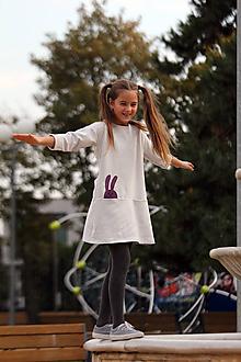Detské oblečenie - Detské šaty GREY - 9961344_
