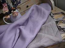 Textil - 100% len metráž, 190g/m2...LILAC DREAMS - 9960276_