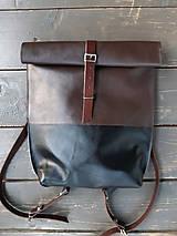 Batohy - kožený batoh - 9962186_