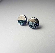 Náušnice - Tana šperky - keramika/platina - 9959112_