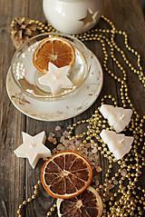 Svietidlá a sviečky - Vianočné plávajúce sviečky - 9960735_