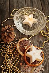 Svietidlá a sviečky - Vianočné plávajúce sviečky - 9960756_