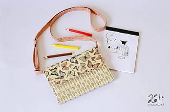 Detské tašky - Detská kabelka - pastelkovníčka Mirabelle - 9961832_