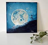 Obrazy - Za mesiacom - obraz - 9961543_