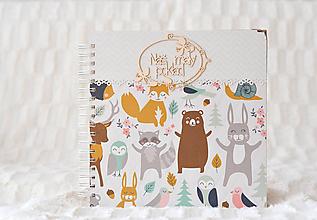 Papiernictvo - Detský fotoalbum - pre dievčatko - 9962742_