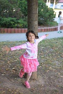 Tričká - Detské batikované tričko - 9961448_