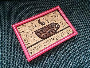 Obrázky - 3D obraz: Coffee Time (Biela) - 9960254_