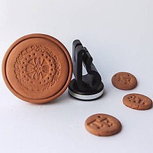 Drobnosti - Difúzer na autoventilátor motív Mandala  (5) - 9960209_