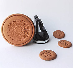 Drobnosti - Difúzer na autoventilátor motív Mandala  (6) - 9960213_
