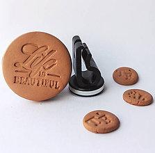 Drobnosti - Difúzer na autoventilátor motív Life - 9960285_