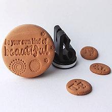 Drobnosti - Difúzer na autoventilátor motív Life (Be your own kind of beautiful) - 9960341_