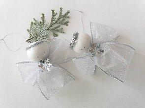 Dekorácie - Vianočný anjel na stromček - 9959078_
