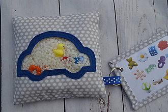 Hračky - Pátračka - modré autíčko (Spy bag) - 9961625_