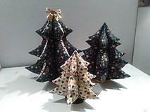 Materiál ručne robený - Vianočné stromčeky. - 9962104_