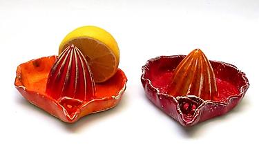 Pomôcky - Odšťavovač oranžovo červený - 9960336_