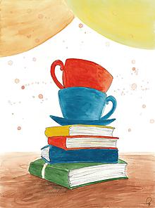 Obrázky - Čaj a knihy, obrázok - 9959076_
