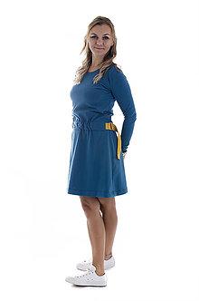Šaty - Šaty s opaskom - 9960635_