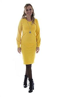 Šaty - Midi šaty- nová farba - 9960808_