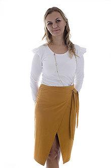 Sukne - Zavinovacia sukňa - 9960888_