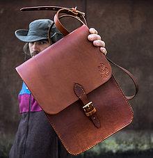 Veľké tašky - Lesnícka kapsa v RETRO štýle - 9962635_