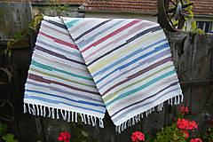 Úžitkový textil - Tkaný koberec pestrofarebný 5 - 9959075_