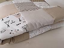 Textil - Súprava do postieľky - Beige. Sand. Hot Chocolate - 9966657_