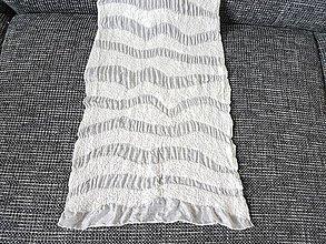 Kurzy - KURZ  PLSTENIA  - plstený šál na hodvábe - 9963799_