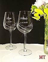 Nádoby - Svadobné poháre - 9964051_