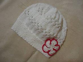 Detské čiapky - Čiapočka Kajka 4 - 9965607_
