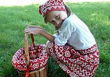 Sukne - Sukienky Červené Čičmany - 9966554_