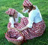 Sukne - Sukienky Červené Čičmany - 9966557_