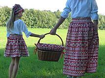 Sukne - Sukienky Červené Čičmany - 9966639_