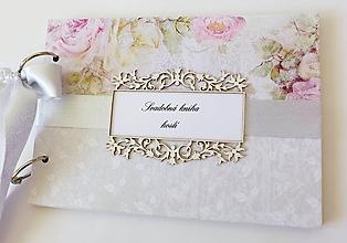 Papiernictvo - svadobná kniha hostí - 9963063_