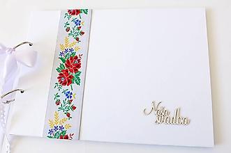Papiernictvo - svadobná kniha hostí - 9963487_