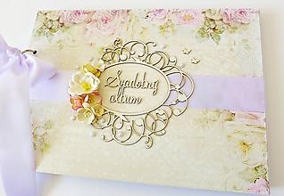 Papiernictvo - album na fotografie svadobný - 9964493_