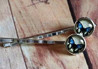 Iné šperky - sponka (motýle) - 9963461_