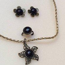 Sady šperkov - sada bronzových šperkov : nočná obloha - 9964321_