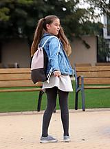 Detské tašky - Batoh zajko PINK 1 - 9963077_